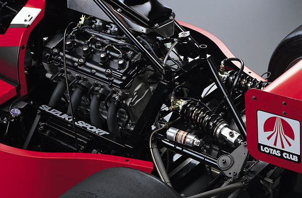 Formula Suzuki Hayabusa - SUZUKI SPORT Racing ITEMS