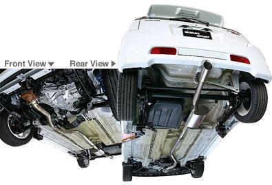 New Type Ti-R Titanium Muffler for Ignis Sport - SUZUKI
